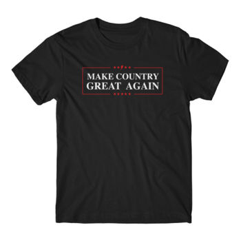 MAKE COUNTRY GREAT AGAIN - Short Sleeve T-shirt - Black Thumbnail
