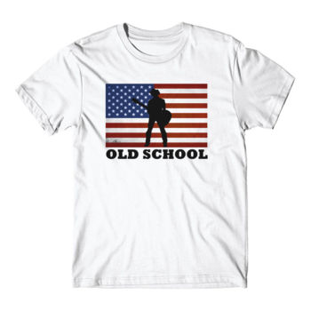 OLD SCHOOL - Short Sleeve T-shirt - White Thumbnail