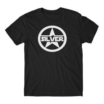 SILVER STAR - Short Sleeve T-shirt - Black Thumbnail