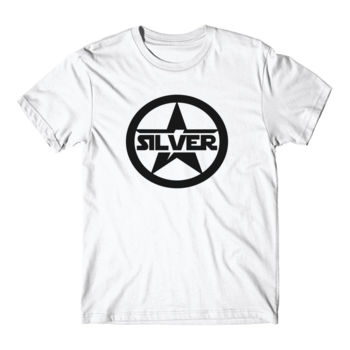 SILVER STAR - Short Sleeve T-shirt - White Thumbnail