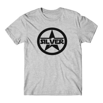 SILVER STAR - Short Sleeve T-shirt - Light Heather Gray Thumbnail