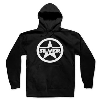 SILVER STAR - Pullover Hoodie - Black Thumbnail