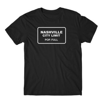 CITY LIMIT - Short Sleeve T-shirt - Black Thumbnail