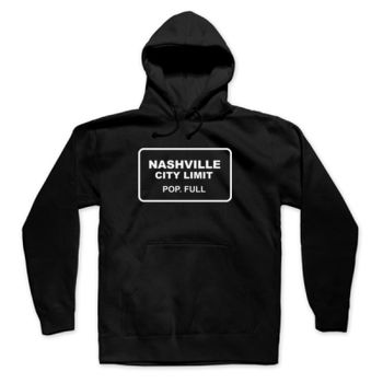 CITY LIMIT - Pullover Hoodie - Black Thumbnail